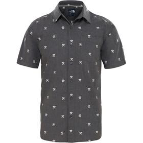 The North Face Baytrail Jacquard Shirt Herr weather dark black heather hatchet jacquard